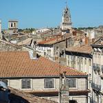 Les toits et campaniles d'Avignon by Toño del Barrio - Avignon 84000 Vaucluse Provence France