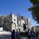 Le Palais des Papes - place du palais par  - Avignon 84000 Vaucluse Provence France
