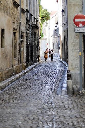 ruelle à Avignon par L_a_mer