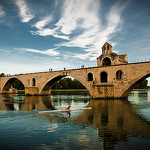 The bridge to nowhere... Pont d'Avignon by ethervizion - Avignon 84000 Vaucluse Provence France