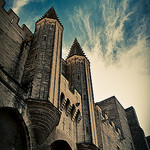 Palais des Papes entrance by  - Avignon 84000 Vaucluse Provence France