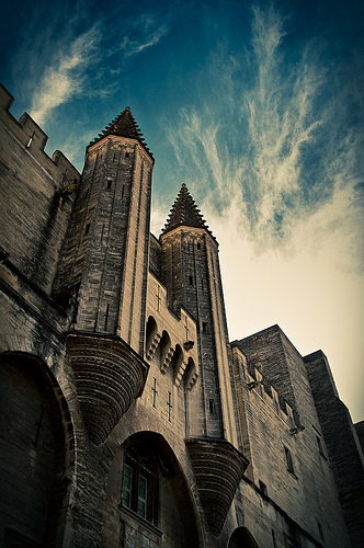 Palais des Papes entrance par ethervizion