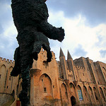 L'éléphant du Palais des Papes par Boccalupo - Avignon 84000 Vaucluse Provence France