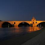 Sous le pont d'Avignon par . SantiMB . - Avignon 84000 Vaucluse Provence France