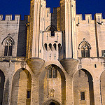 Avignon - entrée du Palais des papes by  - Avignon 84000 Vaucluse Provence France