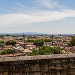 Vue sur les toits d'Avignon by  - Avignon 84000 Vaucluse Provence France