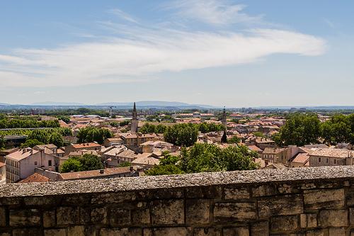Vue sur les toits d'Avignon par Pasqual Demmenie