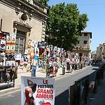 Festival d'Avignon : les rues retapissées d'affiches par CouleurLavande.com - Avignon 84000 Vaucluse Provence France