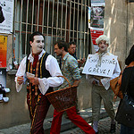 Festival d'Avignon : les acteurs font leur promo par CouleurLavande.com - Avignon 84000 Vaucluse Provence France