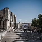 Place du palais des papes by  - Avignon 84000 Vaucluse Provence France