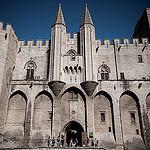 Entrée du Palais des Papes by  - Avignon 84000 Vaucluse Provence France