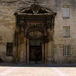 Porche du couvent des Célestins, Avignon by Klovovi - Avignon 84000 Vaucluse Provence France