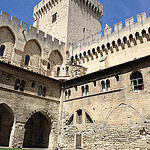 Cloître Benoît XII - Palais des Papes by  - Avignon 84000 Vaucluse Provence France