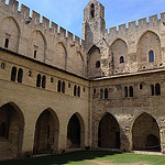 Clotre Benot XII - Palais des Papes by  - Avignon 84000 Vaucluse Provence France