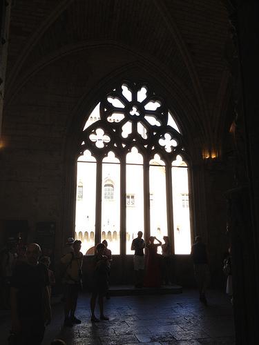 Fenêtre de l'Indulgence - Palais des Papes par gab113