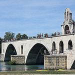 Pont d'Avignon et sa chapelle by  - Avignon 84000 Vaucluse Provence France
