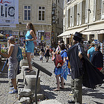 Zorro au festival d'Avignon by Massimo Battesini - Avignon 84000 Vaucluse Provence France