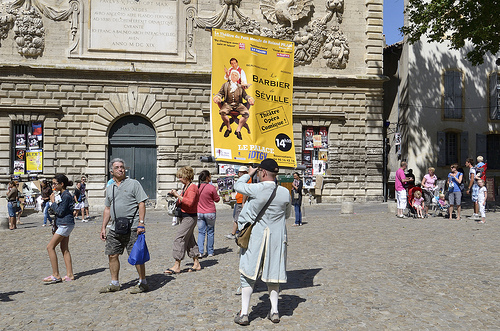 Avignon pendant le Festival 2012 par Massimo Battesini