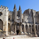 Avignon - Palais des Papes by  - Avignon 84000 Vaucluse Provence France
