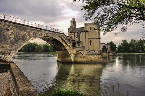 Le Pont d'Avignon sur son rhône par Billblues