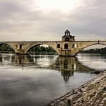 Le Pont d'Avignon de face par Billblues - Avignon 84000 Vaucluse Provence France