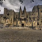 Marée de pierres au Palais des Papes by  - Avignon 84000 Vaucluse Provence France