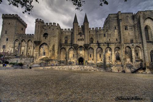 Marée de pierres au Palais des Papes by Billblues