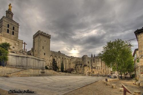 Palais des papes by Billblues