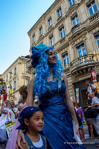 Festival d'Avignon : les acteurs sont dans la rue par alalchan