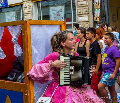Acordéon pour le OFF du Festival d'Avignon par alalchan