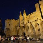 Palais des papes de nuit by gab113 - Avignon 84000 Vaucluse Provence France