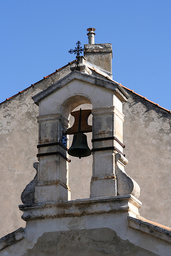 Chapel Bell in Beaumes by mikepirnat