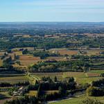 Vue sur la plaine du Comtat-comtat Venaissin  par Toño del Barrio - Beaumes de Venise 84190 Vaucluse Provence France