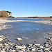 La Durance glacée par Charlottess - Beaumont de Pertuis 84120 Vaucluse Provence France