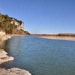 La Durance et son soleil d'hiver - Beaumont-du-Pertuis par Charlottess - Beaumont de Pertuis 84120 Vaucluse Provence France