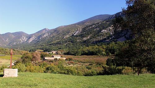 Vue depuis le hameau de Sainte Marguerite à Beaumont du Ventoux par Tinou61