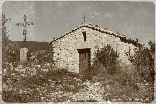 La chapelle Sainte Sidoine à Beaumont du Ventoux by Tinou61