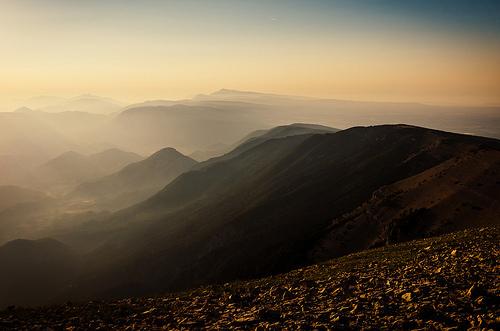 Le lever du soleil vu du Mont-Ventoux par Stéphan Wierzejewski