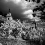 Eglise Saint Pierre - Infrared by schoeband - Bédoin 84410 Vaucluse Provence France