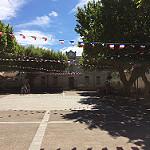 14 juillet à Bedoin - devant l'école municipale par gab113 - Bédoin 84410 Vaucluse Provence France