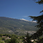 The Mont-Ventoux seen from Bédoin par  - Bédoin 84410 Vaucluse Provence France
