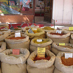 Spices for every dish - Bédoin Market by Sokleine - Bédoin 84410 Vaucluse Provence France