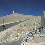 Mont-Ventoux : Tom Simpson stone par Sokleine - Bédoin 84410 Vaucluse Provence France