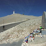 Mont-Ventoux : Tom Simpson stone by Sokleine - Bédoin 84410 Vaucluse Provence France