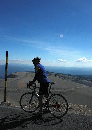 Ventoux - Cyclist who did it! by Sokleine
