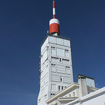 Telecommunications station on top of the Mt-Ventoux par  - Bédoin 84410 Vaucluse Provence France