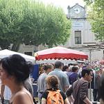 Ecole Communale - Marché de Bedoin par gab113 - Bédoin 84410 Vaucluse Provence France