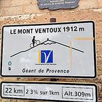 Départ du mont-ventoux à Bédoin : 22 km... by gab113 - Bédoin 84410 Vaucluse Provence France