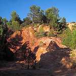 Red earth landscape by  - Bédoin 84410 Vaucluse Provence France