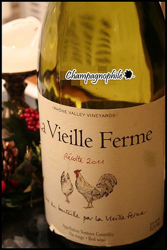 La Vieille Ferme, Récolte 2011 by Champagnophile